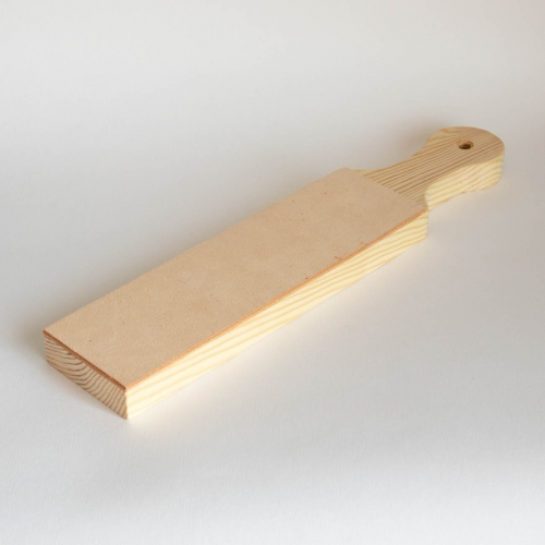 Leather strop, one-sided