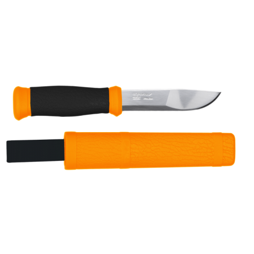 Morakniv 2000 orange, stainless steel